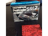 Olympus S912 Pearlcorder Outfit