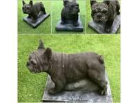 Stone email life-size French bulldog