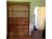Large Solid Pine Bookcase superb condition