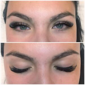 Eyelash extensions Classic or 3D Russian Volume