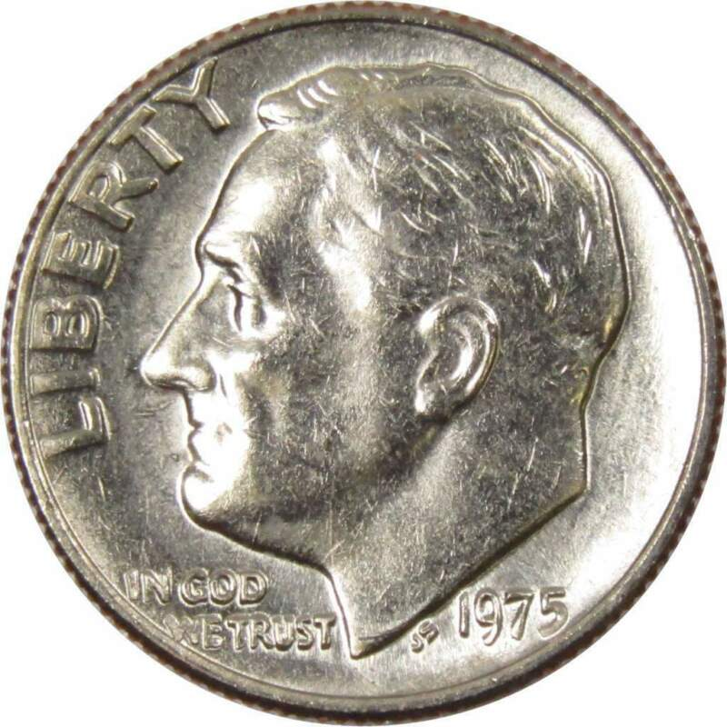1975 10c Roosevelt Dime US Coin Uncirculated Mint State
