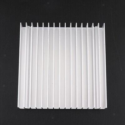 100x100x18mm Aluminum Heatsink Cooling Fin Cooler Large For Cpu Ic Led Power