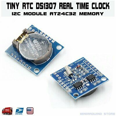 Ds1307 Rtc I2c With Battery Real Time Clock Module For Arduino Avr Pic 51 Arm Us