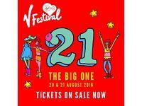 V Festival x2 20/08/2016