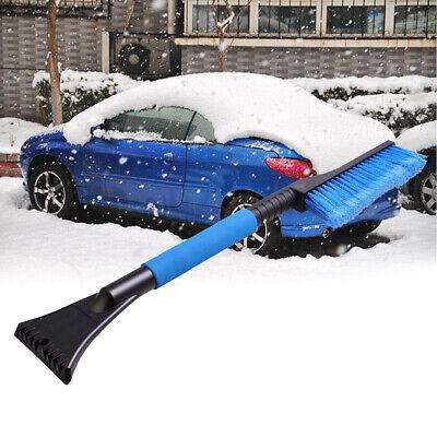 New Car Snow Brush Ice Scraper with Foam Grip Shovel Tool Telescoping Removal