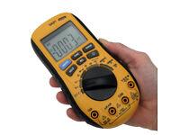 Digital Multimeter Non Contact AC/DC Ohms Temperature Diode