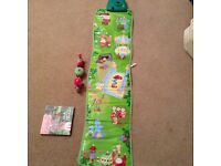 In the night garden interactive step mat, music and sounds, ninky nonk and extras