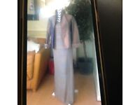 Lilac and Rose Gold 3 piece suit size12