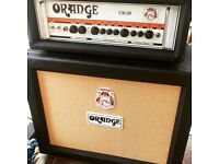Orange Amps guitar head and cab as new, unused