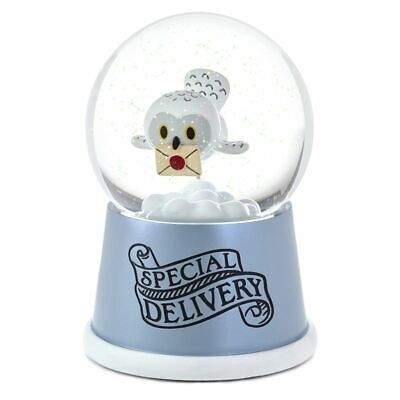 Hallmark Harry Potter Hedwig Special Delivery Musical Snow Globe New