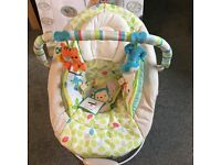 Brand new comfort and harmony baby bouncer