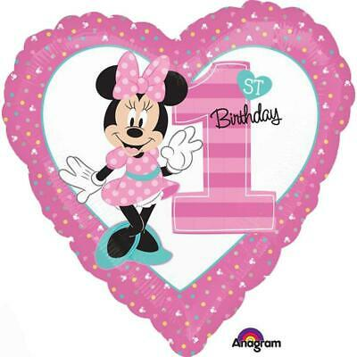 Minnie Mouse 1st Birthday Party Decorations Mylar Foil Balloon - Minnie Mouse Decorations Birthday Party