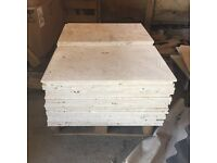 Natural Travertine tiles x 44 (approx. 11m2)
