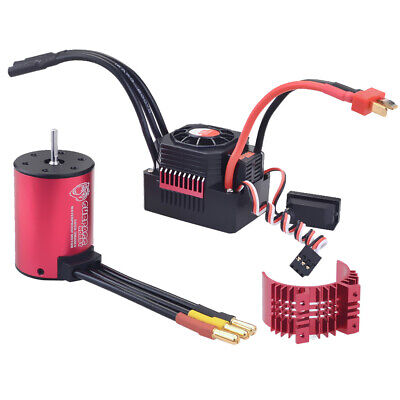 MagiDeal 3360 2600KV Brushless Motor + 60A ESC +Heatsink for