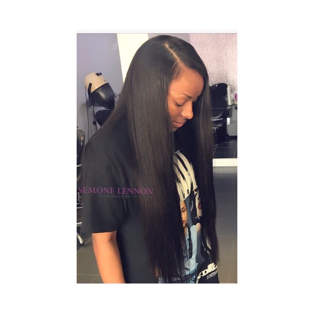 Good Black Hairdresser London Hair Extensions Weave In Wood