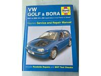 VW Golf and Bora 2001 to 2003 Haynes Manual