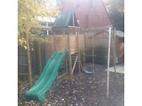 Dunster house climbing frame