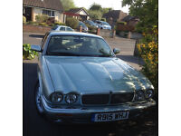 JAGUAR XJ8, 308 model, seafrost metalic with ivory leather