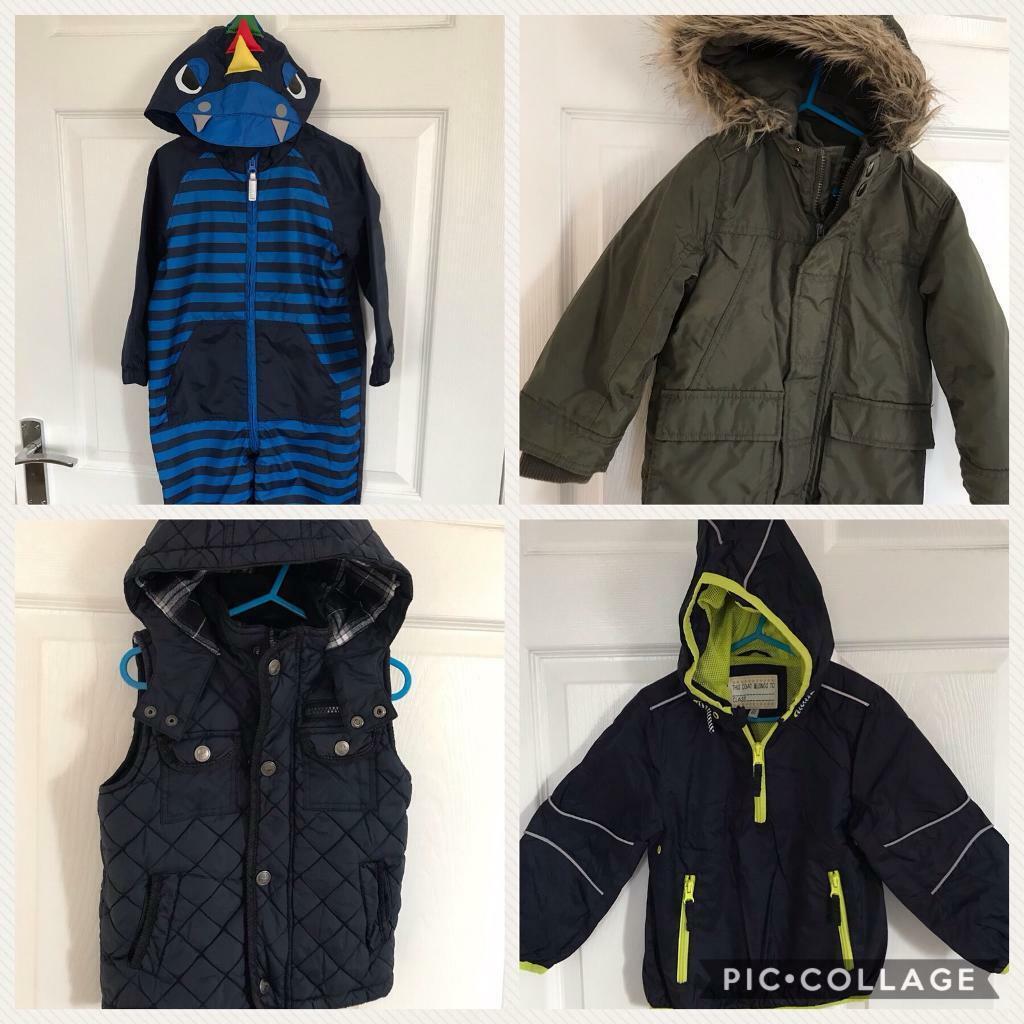 298ec8d1e2e2 3 images Various boys  jackets - ages 2-5 years. Bathgate area ...