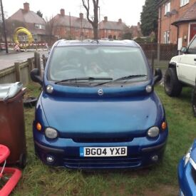 Fiat multipla manuel 1.9jdt breaking