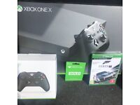 Xbox one x brand new!! Need rid asap