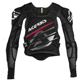 New S/M Acerbis Soft 2.0 Body Armour Motocross Downhill Neck Brace Compatible
