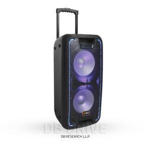 QDJ210 speaker. Bluetooth and Karaoke