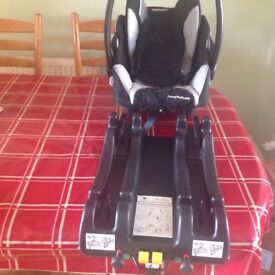 Recaro car seat and Isofix. best offer considered