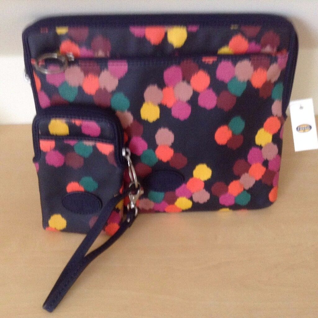 Fossil ipad and mobile phone cases
