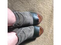 Top shop olive colour gorgeous shoes brand new size 5