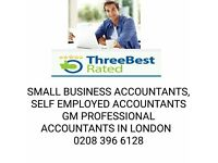 Sole trader tax return, cis, limited company, self employed, vat, low cost,cheap accountant,find