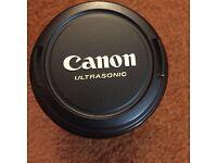 Canon ultrasonic ef lens