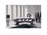 Brand New Malta Corner Leather Sofa 12 Months Warranty £499.00 07852444206
