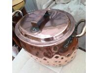 Victorian Copper Cook Pan