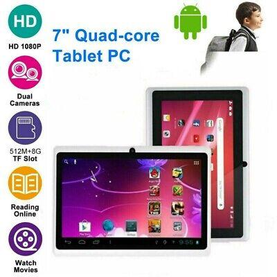 7'' Tableta Android 4.4 Quad Core 512MB+8GB WiFi 3G 16MP Cámara TabletPC SIM