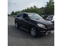 Mercedes ml 350 2013 black