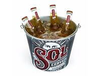 Job Lot 5x Sol Ice Bucket