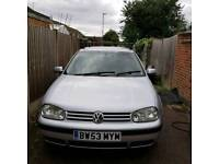 Spares and repairs Vw golf does not drive