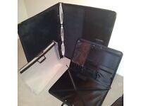 Large art portfolio portable cases