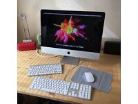 "Apple iMac A1311 21.5"" i3 core 500GB HDD 4GB RAM Mid 2010 Year in original box"