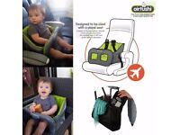 Airtushi inflatable portable baby high chair