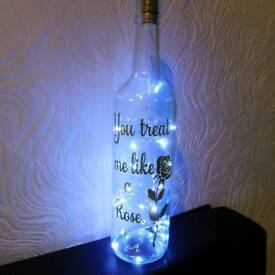 Light up bottle