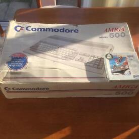 Commodore Amiga 500 Computer Boxed