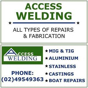 Access Welding & Repairs Wallsend Newcastle Area Preview