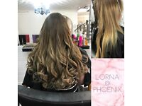 Hair Extensions - L.A Weave, MicroWeave, Nano Rings, Micro Rings, Tape-in, Fusion Bonds - From £185