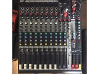 Soundcraft MFXi8 analogue mixer for sale