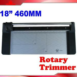 """18"""" 24"""" 34"""" 48"""" Manual Sharp Rotary Paper Trimmer Cutter"""