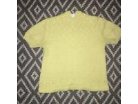 Size 12 lemon vintage top