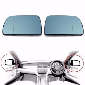 vw golf mk6 door mirror glass new