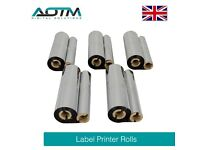 AOTM Professional Label Printer Ribbons - Pack of 5 (LPR101)